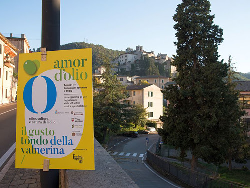 """Arrone, domenica """"Amor d'Olio"""" per scoprire prodotto principe Valnerina"""