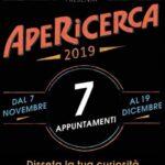 locandina evento ApeRicerca 2019 a Perugia