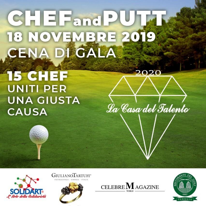 A Perugia cena di Gala con 15 chef per La Casa del Talento 2020