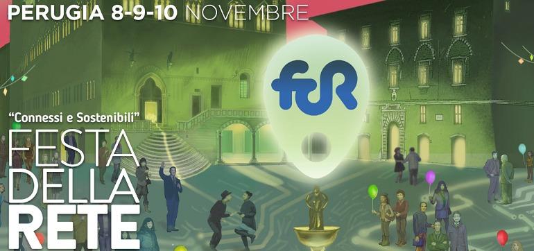 locandina Festa della Rete 2019 a Perugia