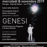 locandina presentazione libro Genesi a Perugia