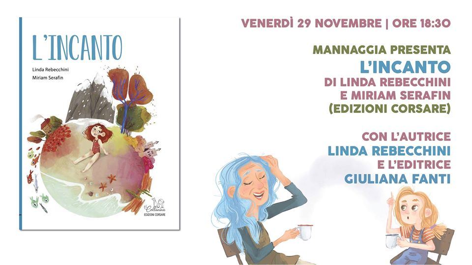 """Perugia, alla libreria Mannaggia la presentazione de """"L'incanto"""""""
