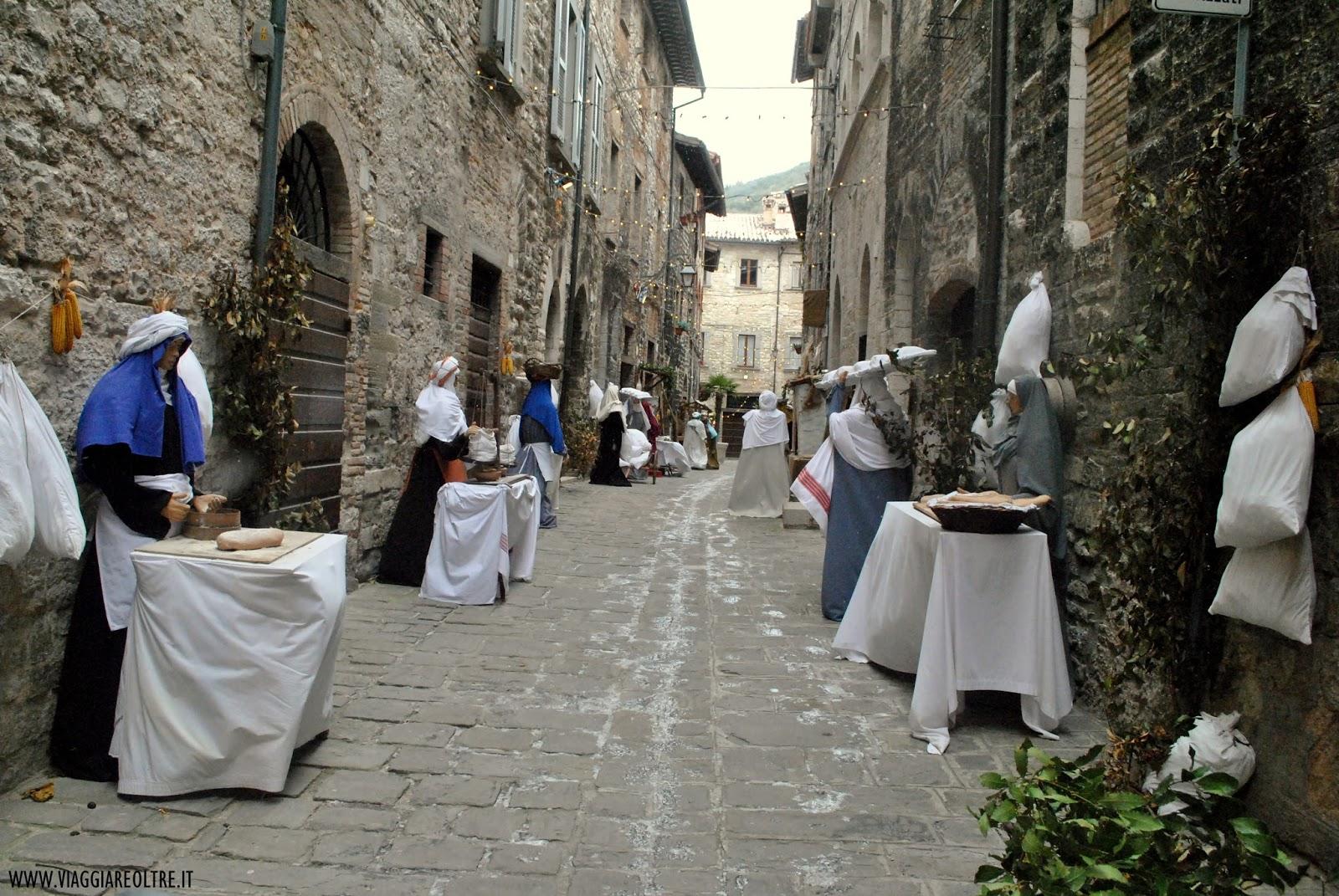 Presepe di San Martino - Gubbio