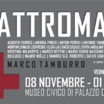 locandina mostra QUATTROMANI a Perugia