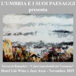 locandina mostra L'Umbria e i suoi paesaggi
