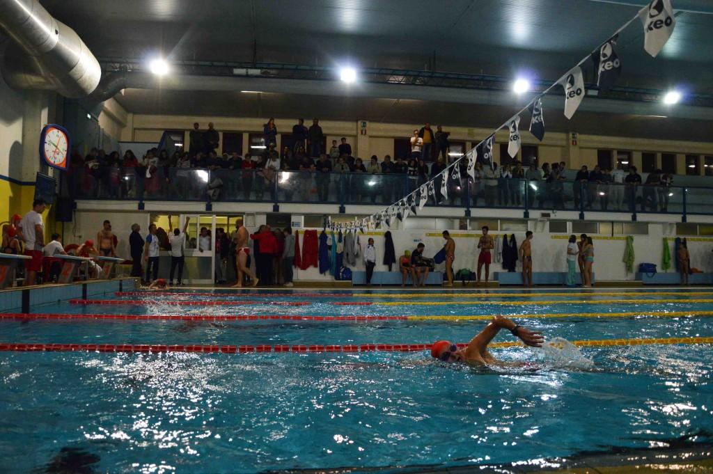 Città di Castello, battuti tutti i record alla 24 ore di nuoto per solidarietà