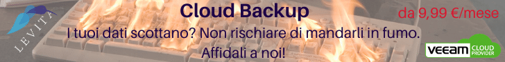 servizio di cloud backup italiano