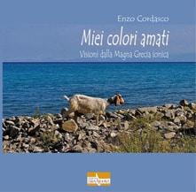 copertina del libro Miei colori amati. Visioni dalla Magna Grecia ionica