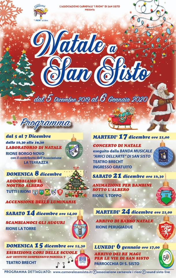 """Perugia, molte le iniziative in programma nel """"Natale a San Sisto"""""""