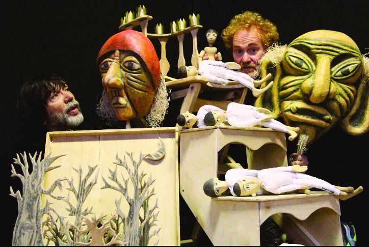 foto di scena Pollicino del Teatro dell'Orsa