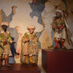 Statuette della mostra il presepe napoletano