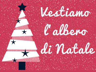 locandina evento Vestiamo l'albero di Natale a Perugia