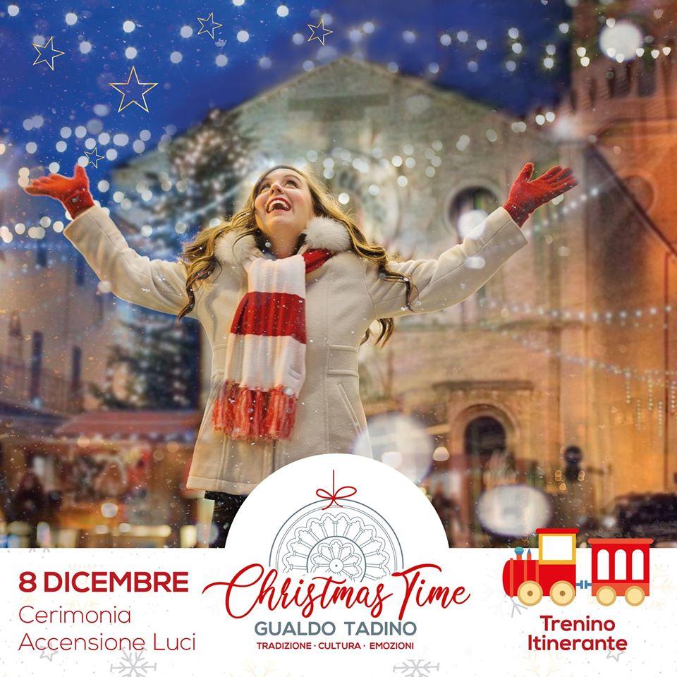 Christmas Time a Gualdo Tadino, si comincia l'8 dicembre