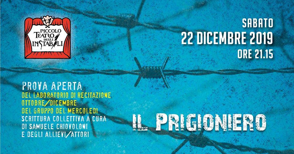 locandina prova aperta Il prigioniero ad Assisi