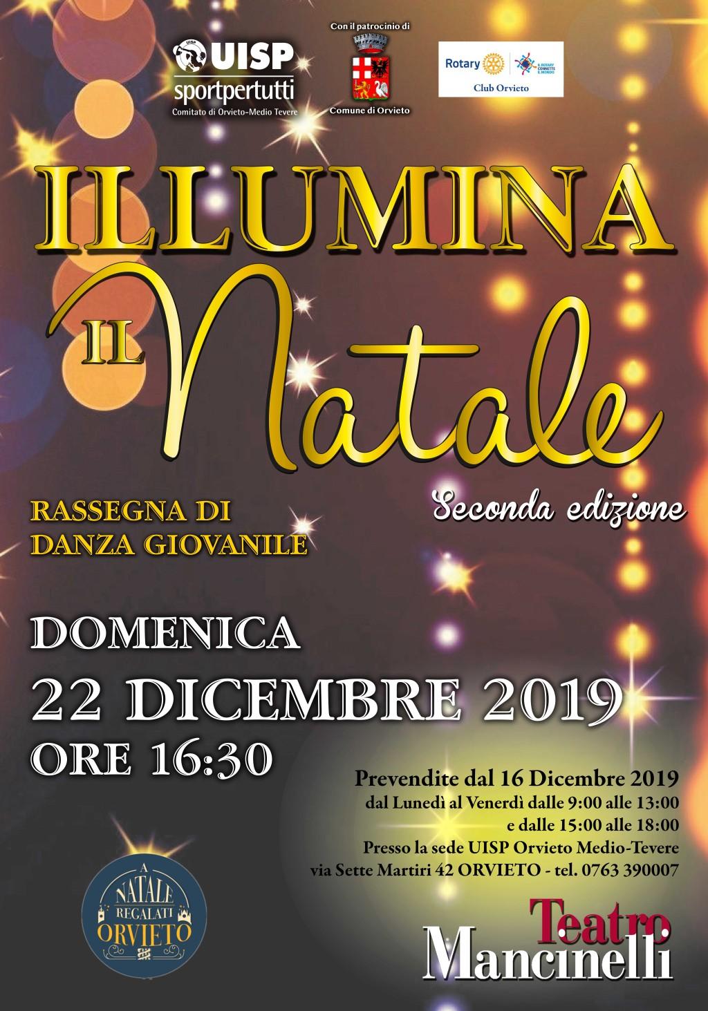 Illumina il Natale, il 22 dicembre si danza al Teatro Mancinelli di Orvieto