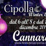locandina festa della cipolla winter edition 2019