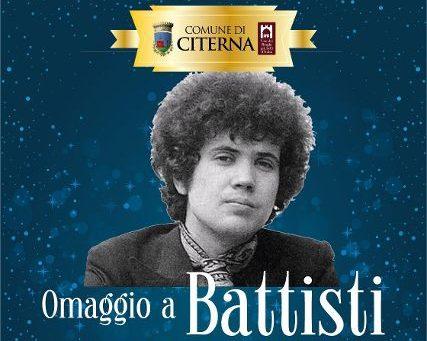 locandina Omaggio a Battisti concerto a Citerna