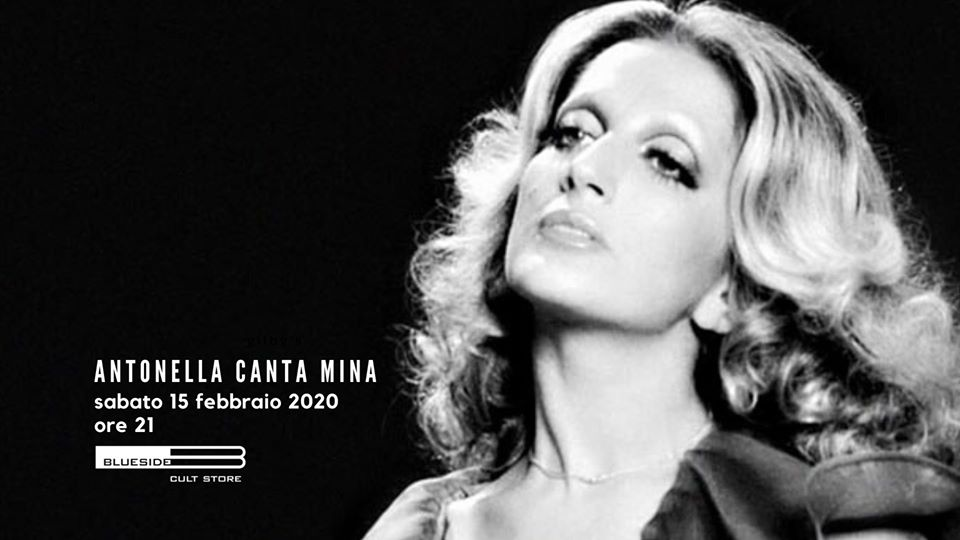 locandina Antonella canta Mina