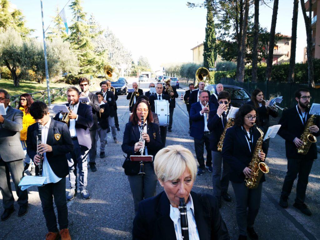 Perugia, la banda musicale