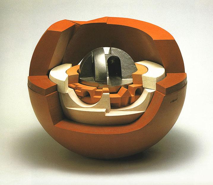 Romano-Mazzini-sfera-citta-ideale-1995