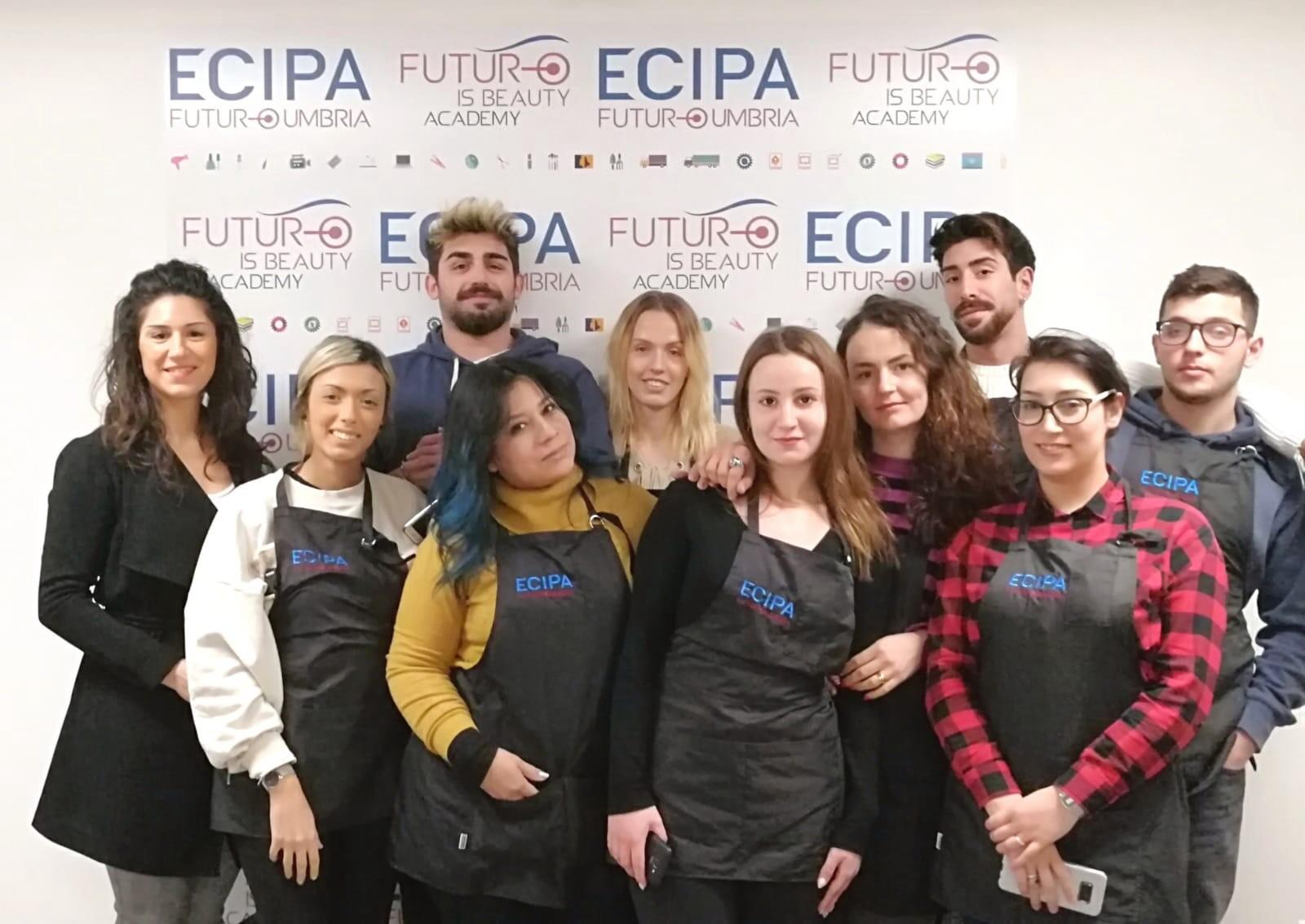 Gli Amici del Teatro di Colombella con Beauty Academy by Ecipa Umbria