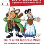 locandina Giornate del Bartoccio 2020 a Perugia