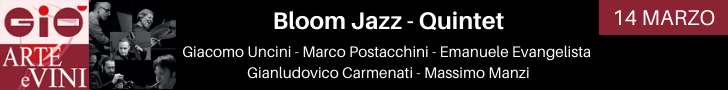 Bloom Jazz Quintet - 14 Marzo 2020