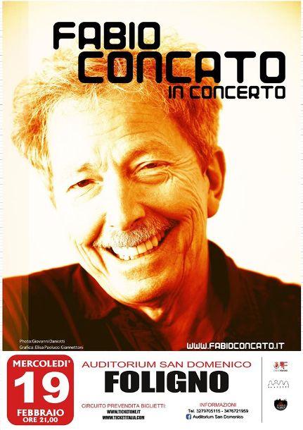 Open tour Fabio Concato a Foligno