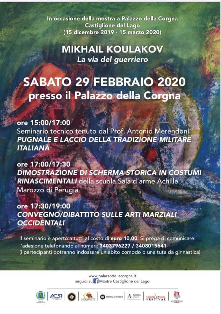 Mostra Koulakov Evento 29 febbraio (locandina)