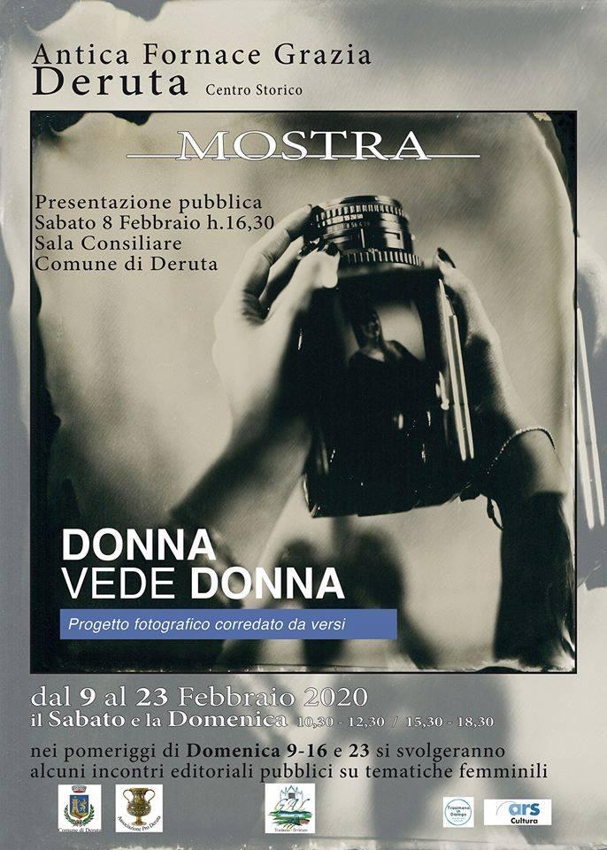 locandina Donna vede donna a Deruta