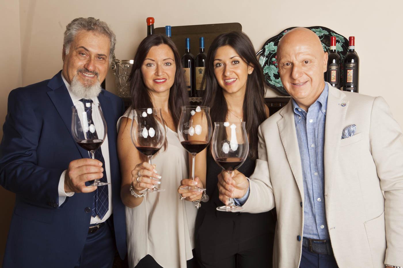 Le ultime due generazioni: Stefano, Sara Giulia e Gianluca